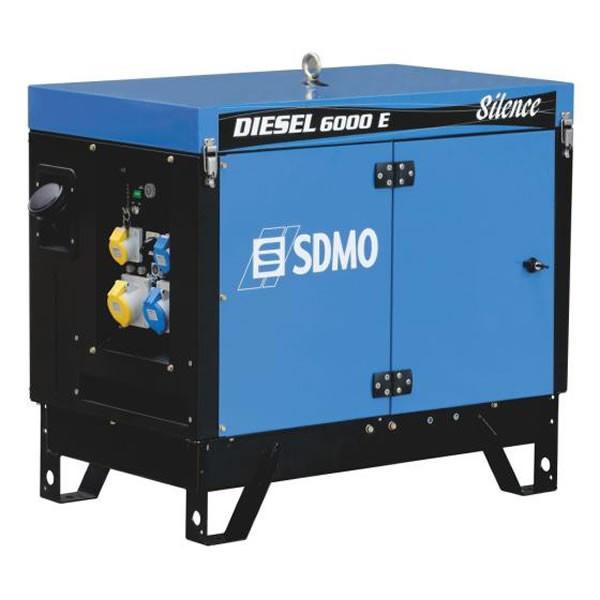 ⚡SDMO Diesel 6000 E Silence (5,2 кВт)