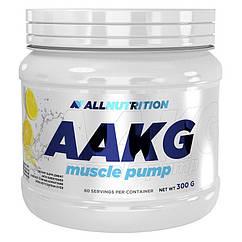 L-аргинин альфа-кетоглютарат AllNutrition AAKG (300 г) аакг алл нутришн natural