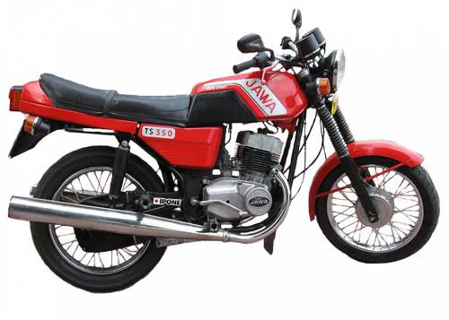 Запчастини до мотоциклів Ява