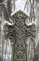 Крест гранитный 18