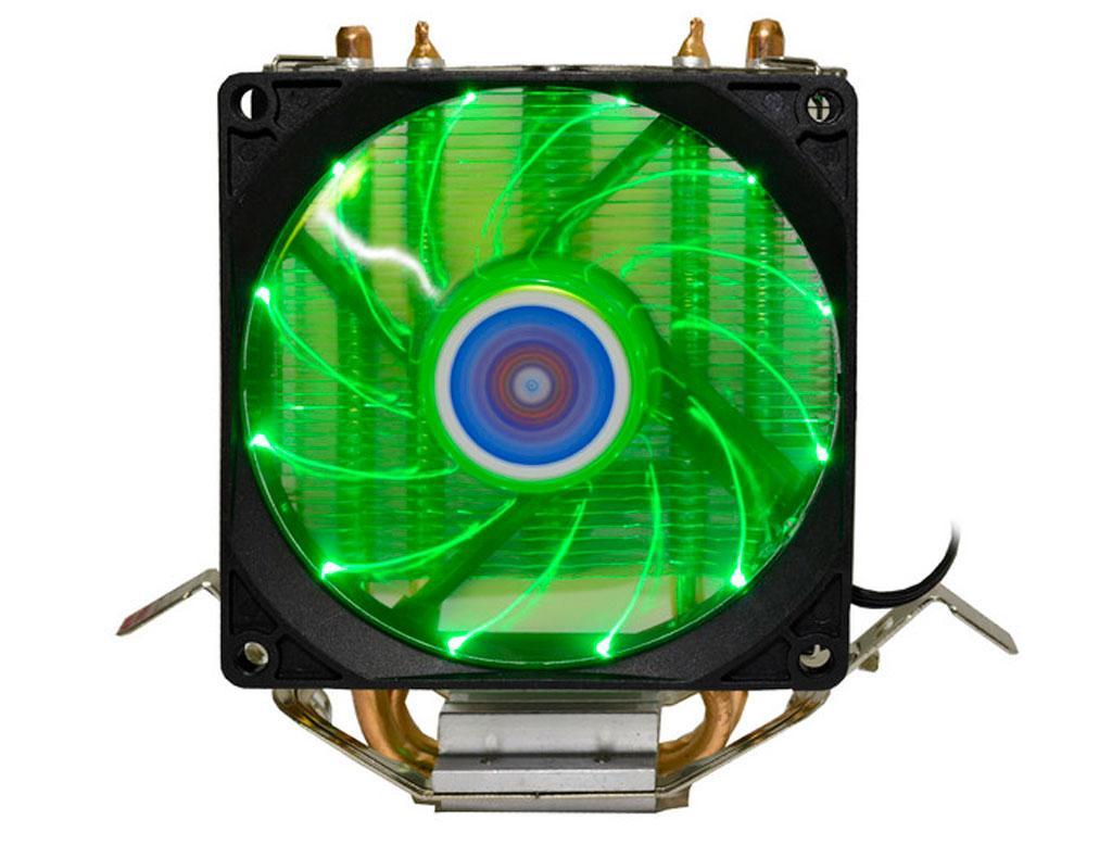 Вентилятор (кулер) для процессора Cooling Baby R90 green led