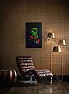 Картина Разбитое сердце 50х80 см холст масло галерейная натяжка современная интерьерная живопись, фото 4