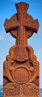 Крест из камня 19