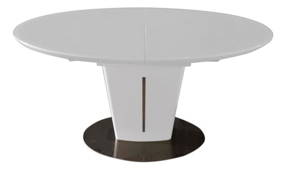 Обеденный стол Ева матовый белый 140/180 от Prestol