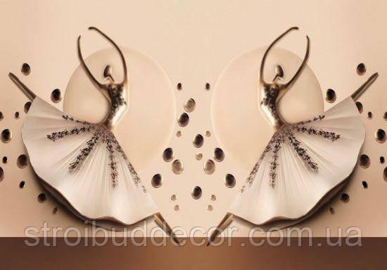 Фотообои 3D балерины разные текстуры , индивидуальный размер