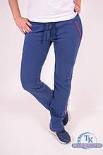 Брюки спортивные женские (цв.синий) трикотажные на флисе MARATON 10439 Размер:44