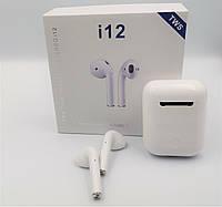 Беспроводные наушники i12 TWS AirPods mini аирподс блютус bluetooth навушники безпровідні і12 сенсорні