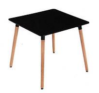 Стол обеденный Нури 800х800, черный