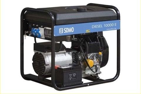 ⚡SDMO Diesel 10000 E XL C (9 кВт)