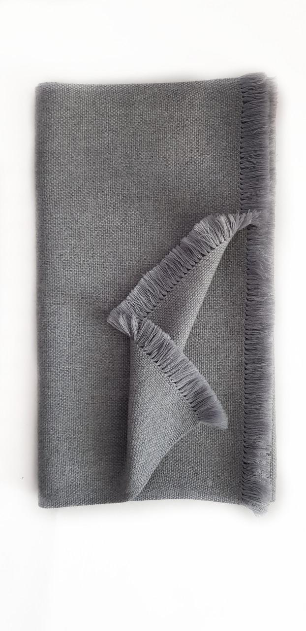 Мужской кашемировый шарф Chadrin серый