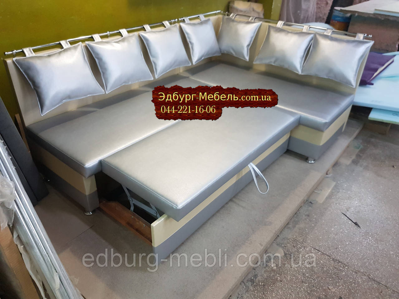Виробництво кухонних куточків зі спальним місцем Комфорт 1200Х1800