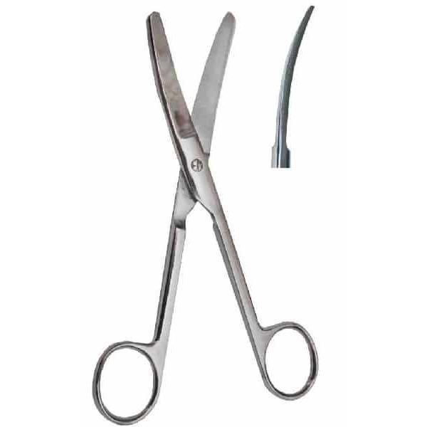 Ножницы 170мм изогнутые