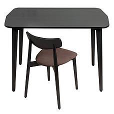Обідній стілець Dan чорний, фото 3