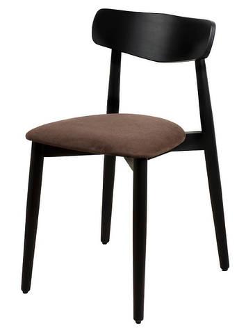 Обідній стілець Dan чорний, фото 2