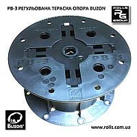 PB-3 Регулируемая опора h90-145мм без корректора уклона Buzon терраса, отмостка бассейна