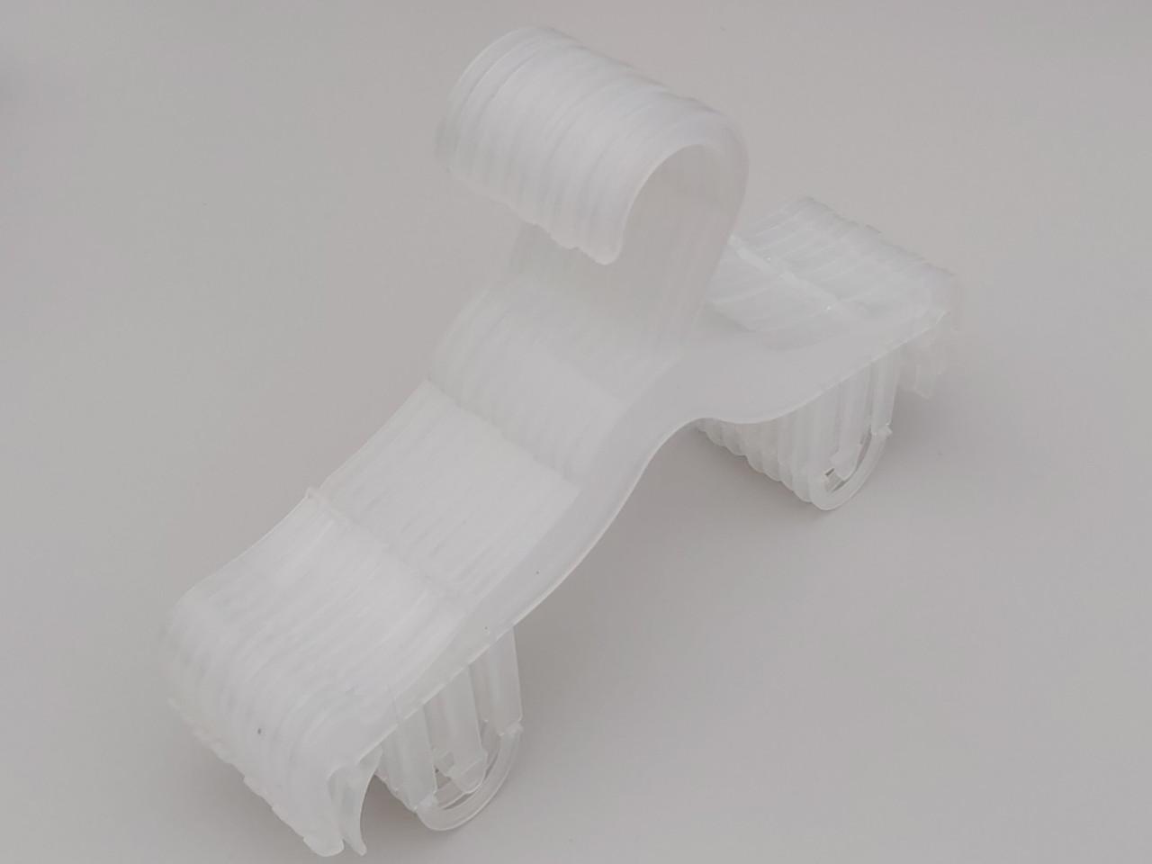 Плечики вешалки пластмассовые для нижнего белья V-DS26 pp матового цвета, длина 25,5 см, 10 штук в упаковке