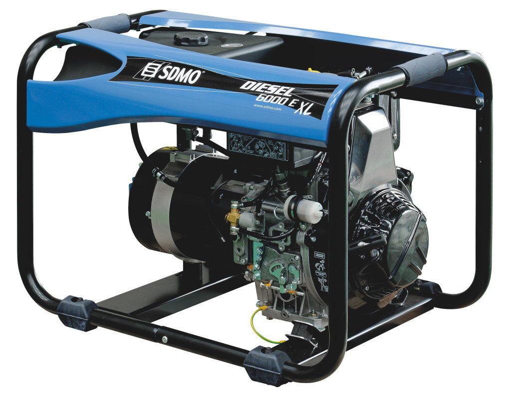 ⚡SDMO Diesel 6000 E XL C (5,2 кВт)