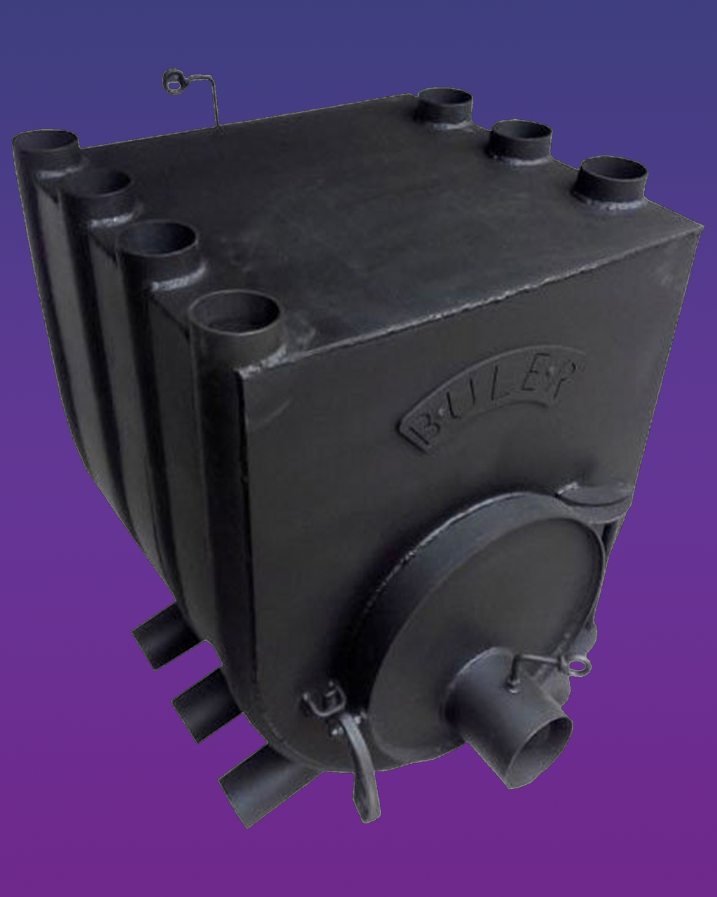 Печь Булерьян Отопительно-Варочная для дома Buller Тип 04 объем, 1000 м3