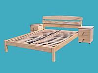 """Кровать в Запорожье деревянная полуторная """"Александра"""" kr.al2.1, фото 1"""