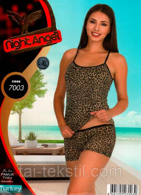 Комплект женский 2-ка майка и трусики Турция S-M,L-XL 7003
