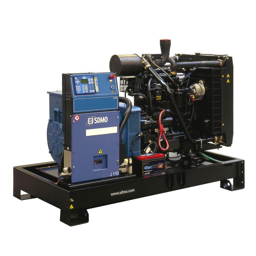 Трехфазный дизельный генератор Montana SDMO J250K (200 кВт)