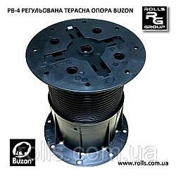 PB-4 Регульована опора h145-245мм без коректора ухилу Buzon тераса, вимощення басейну