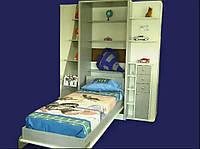Кровать-шкаф трансформер односпальная Brand Вертикальная, 70х200