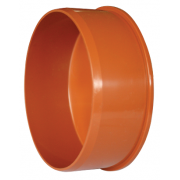 Заглушка ПВХ d 315 мм, для наружной безнапорной канализации