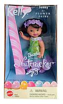 Коллекционная кукла Барби Келли Фея Щелкунчик Barbie Kelly Club Flower Fairy The Nutcracker 2001 Mattel