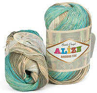 Alize Bamboo Fine Batik 3254 Нитки Для Вязания Оптом