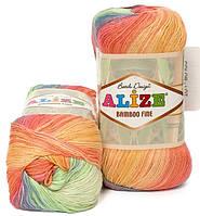 Alize Bamboo Fine Batik 3259 Нитки Для Вязания Оптом