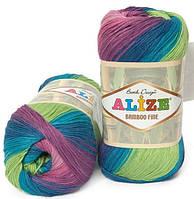 Alize Bamboo Fine Batik 3260 Нитки Для Вязания Оптом