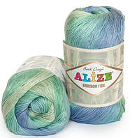 Alize Bamboo Fine Batik 3684 Нитки Для Вязания Оптом