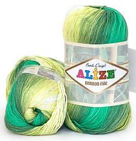 Alize Bamboo Fine Batik 4557 Нитки Для Вязания Оптом