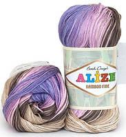 Alize Bamboo Fine Batik 4558 Нитки Для Вязания Оптом