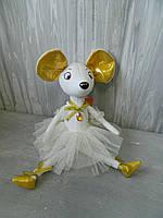 М'яка іграшка Мишка 002 принцеса 40 см Мягкая игрушка Мышка принцесса