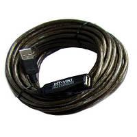 Удлинитель USB 2.0 с усилителем (активный) 10м