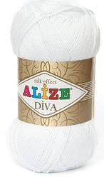 Alize Diva 55 Нитки Для Вязания Оптом