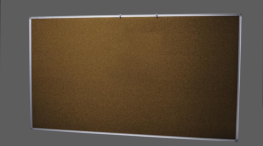 Доска пробковая в алюминиевой раме 75х100 см UkrBoards. Дошка коркова в алюмінієвій рамі