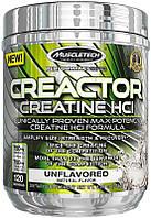 Креатин гидрохлорид, Muscletech Creactor /120 порций, 240г