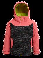 Горнолыжная куртка Burton lodie (Georgia Peach/Sprinkles) 2020