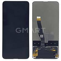 Дисплей Huawei P Smart  Z 2019 черный (LCD экран, тачскрин, стекло в сборе)