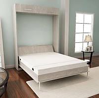 Кровать-шкаф трансформер двуспальная Brand без надставки, 140х200