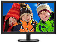 Full HD TN монитор Philips 223V5LHSB2, для компьютера, 22 дюйма, ЖК (HDMI. РК монітор 22 дюйма для комп'ютера)