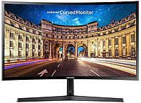 Full HD VA изогнутый монитор Samsung LC24F396FHUXEN, 24 дюйма, ЖК (HDMI. вигнутий РК монітор 24 дюйма Самсунг)