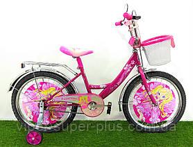 "Дитячий велосипед Mustang disney Princess 20"" рожевий"