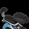 Электрический скутер CITY 350W/48V Серо-голубой, фото 2