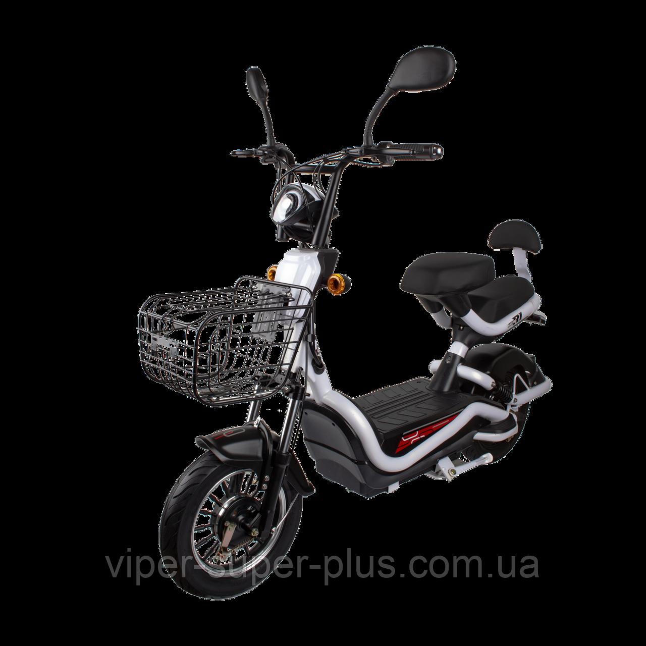 Электрический скутер  R1 RACING 500W/48V Белый