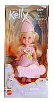 Коллекционная кукла Барби Келли Рапунцель Barbie Kelly Petal Princess Rapunzel 2001 Mattel