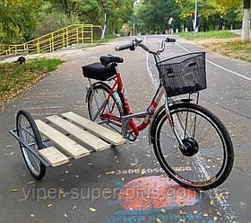 Боковая коляска для велосипеда Салют F-5